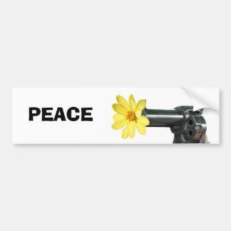 Paz Pegatina De Parachoque