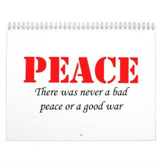 Paz Calendario