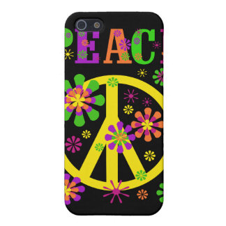 Paz caliente de los colores iPhone 5 fundas