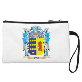 Paz Coat of Arms - Family Crest Wristlet