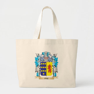 Paz Coat of Arms - Family Crest Tote Bags
