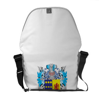 Paz Coat of Arms - Family Crest Courier Bags