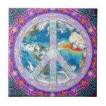 Paz - coexista azulejos ceramicos
