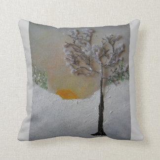 Paz con la naturaleza almohada
