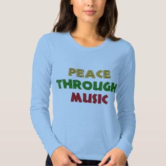 Paz con música remera