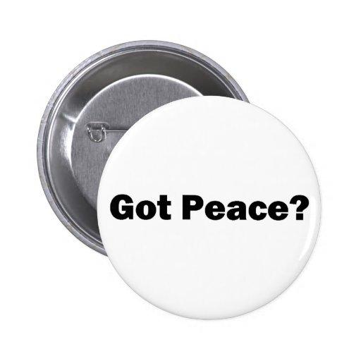 ¿Paz conseguida? Botón