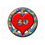 Paz, corazón, 30 postales