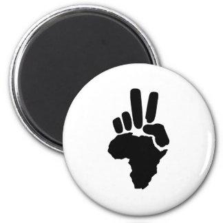 Paz de África Imán Para Frigorífico