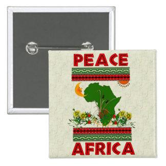 Paz de África Pins