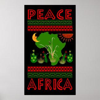 Paz de África Póster