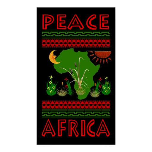 Paz de África Posters
