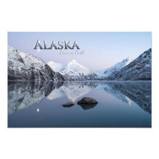 Paz de Alaska en la tierra Impresiones Fotográficas