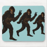 Paz de Bigfoot Alfombrilla De Ratones