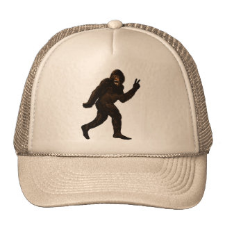 Paz de Bigfoot Sasquatch Gorro
