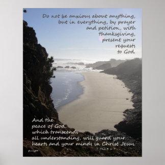 Paz de dios póster