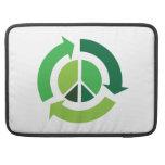 Paz de Eco Fundas Para Macbooks