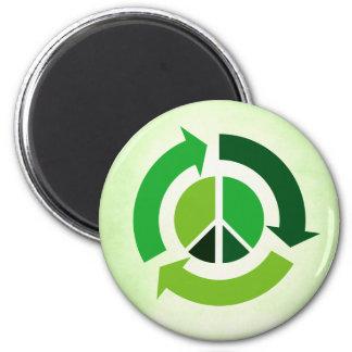 Paz de Eco Imán Redondo 5 Cm