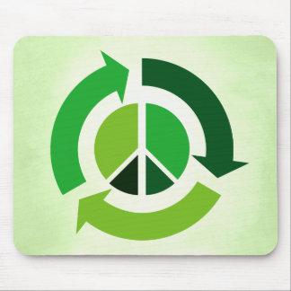 Paz de Eco Alfombrilla De Raton
