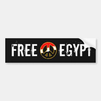 PAZ DE EGIPTO ETIQUETA DE PARACHOQUE