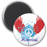 Paz de Hawaii Iman Para Frigorífico