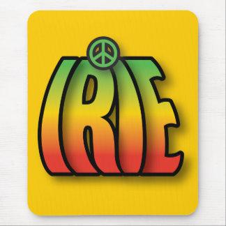 Paz de Irie Alfombrillas De Raton