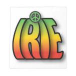 Paz de IRIE Blocs De Notas