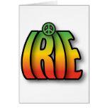 Paz de IRIE Felicitaciones