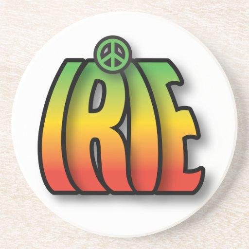 Paz de IRIE Posavasos De Arenisca
