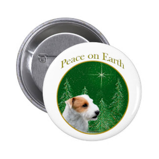 Paz de Jack Russell Terrier (roto) Pins