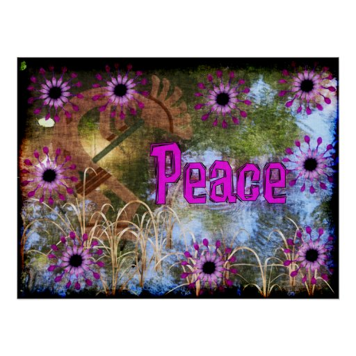 Paz de Kokopelli Impresiones