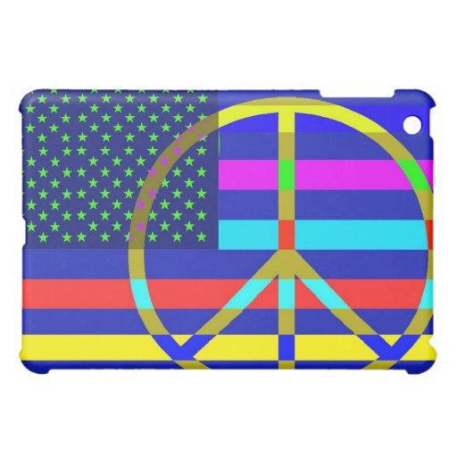 Paz de la bandera americana