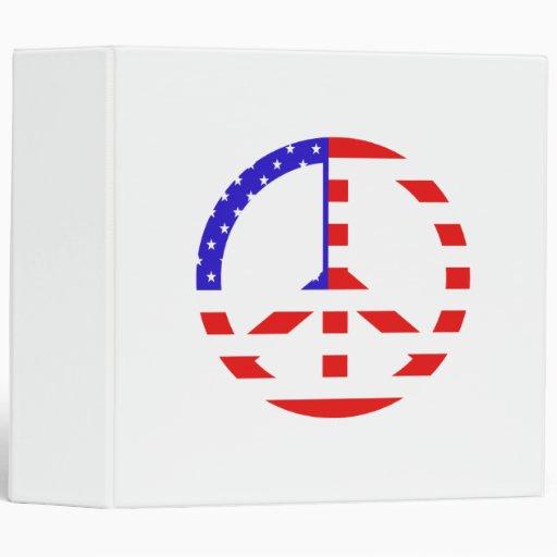 "Paz de la bandera americana carpeta 2"""