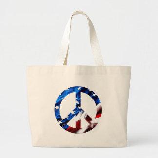 paz de la bolsa lienzo