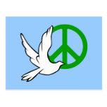 paz de la paloma postal