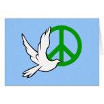 paz de la paloma tarjetas