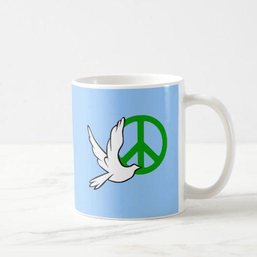 paz de la paloma taza