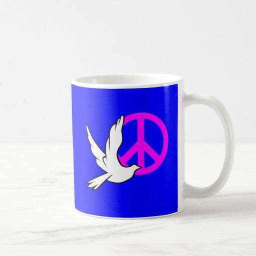 paz de la paloma tazas