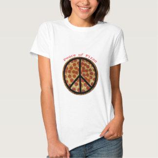 Paz de la pizza playeras