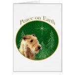 Paz de Lakeland Terrier Tarjetón