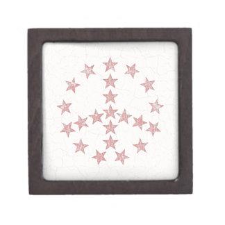 Paz de las estrellas cajas de joyas de calidad