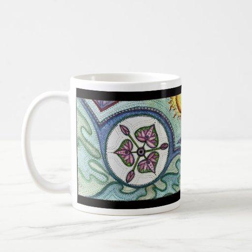 Paz de Lotus Taza De Café