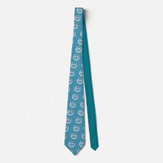 Paz de mármol corbata personalizada