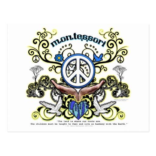 Paz de Montesori Postal