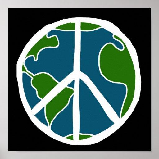 Paz de mundo 2 posters