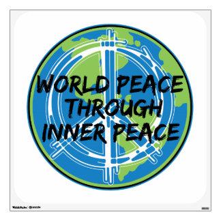 Paz de mundo con paz interna