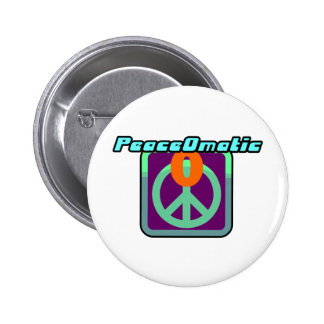 Paz de mundo de PeaceOmatic Pin