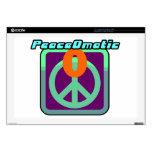 Paz de mundo de PeaceOmatic 43,2cm Portátil Calcomanía