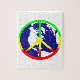 Paz de mundo de Rasta Puzzle