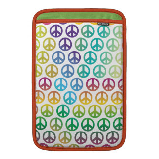 Paz de mundo fundas macbook air