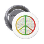 Paz de mundo pins